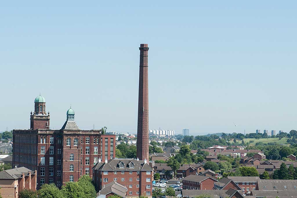 Mile End Mill, Abbey Mill Business Centre, Paisley - July 2014
