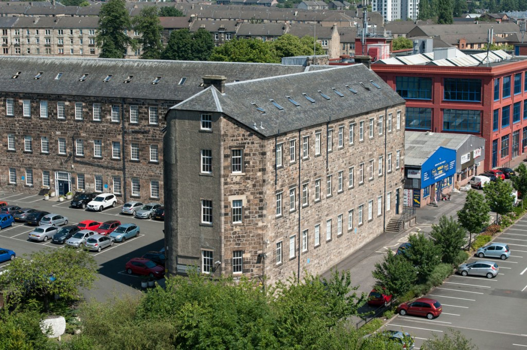 Embroidery Mill, Abbey Mill Business Centre, Paisley - July 2014